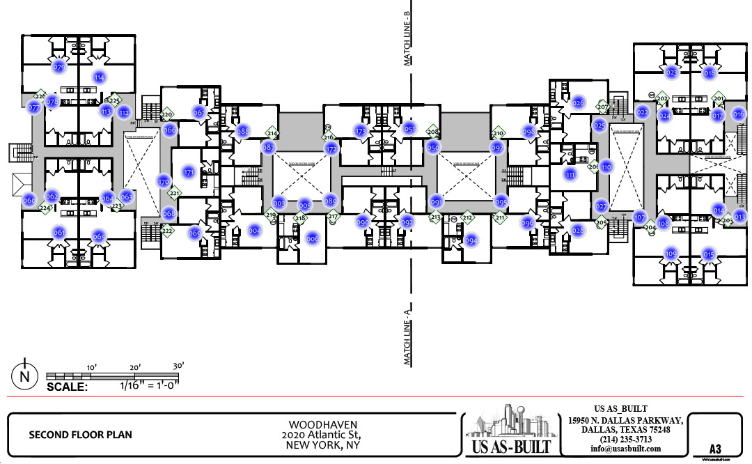 Apartment Elevation Us As Built