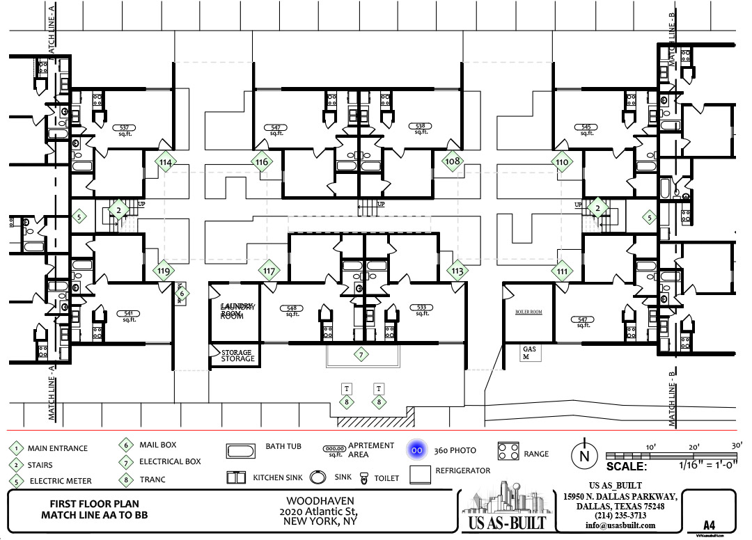Commercial Shop Drawings Us As Built Drawing An Electrical Plan Apartment Site 5