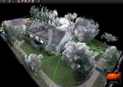 Residential as built Laser scanning