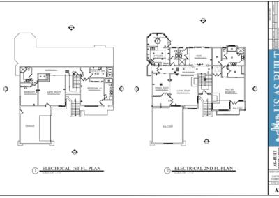 Residential as built survey   as built plan