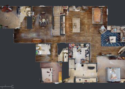 Residential as built floor Plan